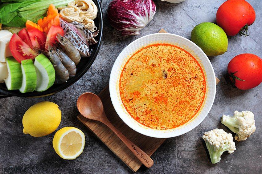 The Soup Spoonx享廚好食新鮮快煮火鍋組合。 享廚好食/提供