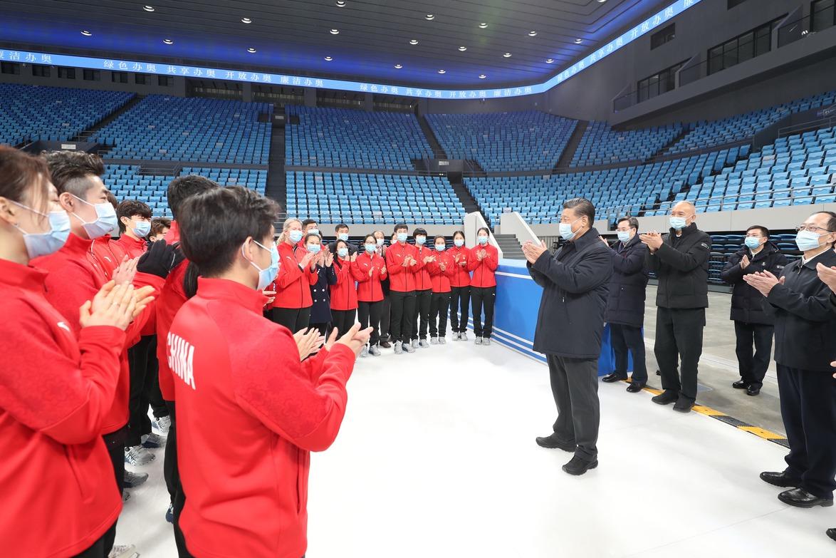 北京冬奧 習近平宣示明年2月如期辦