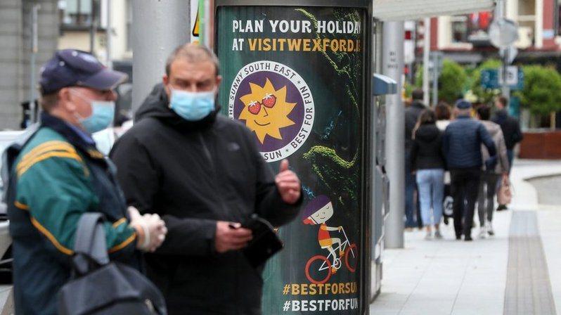 愛爾蘭因為疏忽,從防疫模範國成了全世界感染率最高的國家。(Photo from網路截圖)