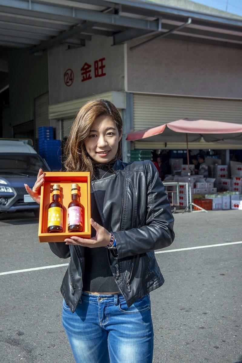 嘉義市果菜市場公司推出春節禮盒,選購2件以上免費送上府。圖/嘉義市果菜市場公司提供