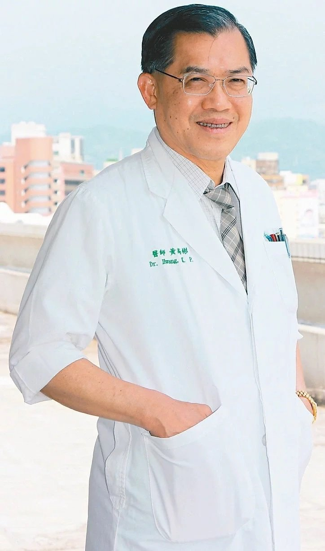 中國醫藥大學附設醫院感染管制中心副院長黃高彬。圖/黃高彬提供