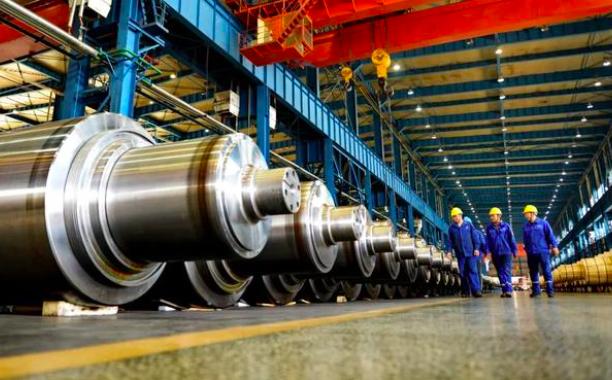 圖為黑龍江省齊齊哈爾市的中國一重集團有限公司,為大型裝備製造商,隸屬於大陸央企。...