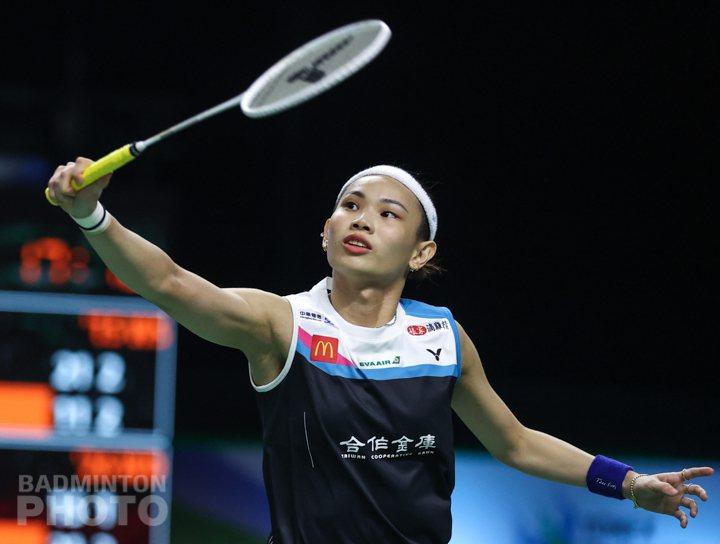 戴資穎順利晉級第二輪。圖/Badminton Photo提供(資料照)