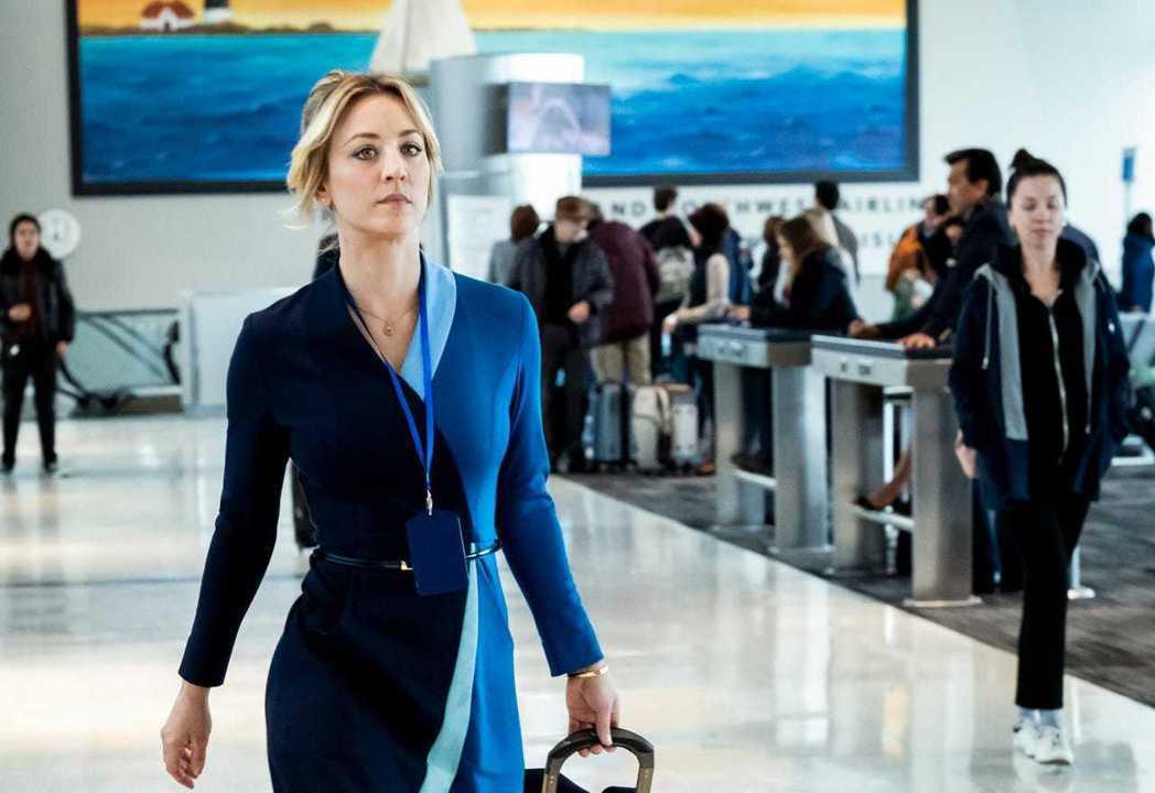 「謎飛空姐」凱莉庫柯入圍美國廣電影評人協會最佳喜劇影集女主角。圖/摘自imdb