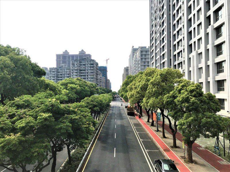 林口街景。記者游智文/攝影