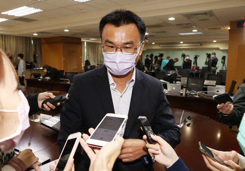 農委會主委陳吉仲。記者杜建重/攝影