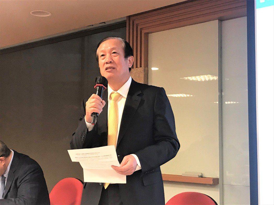 全國商總主席賴正鎰。記者游智文/攝影