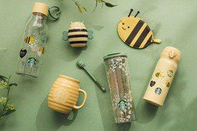蜜蜂化身小丘比特!星巴克2021情人節Honey Bee系列新品來了