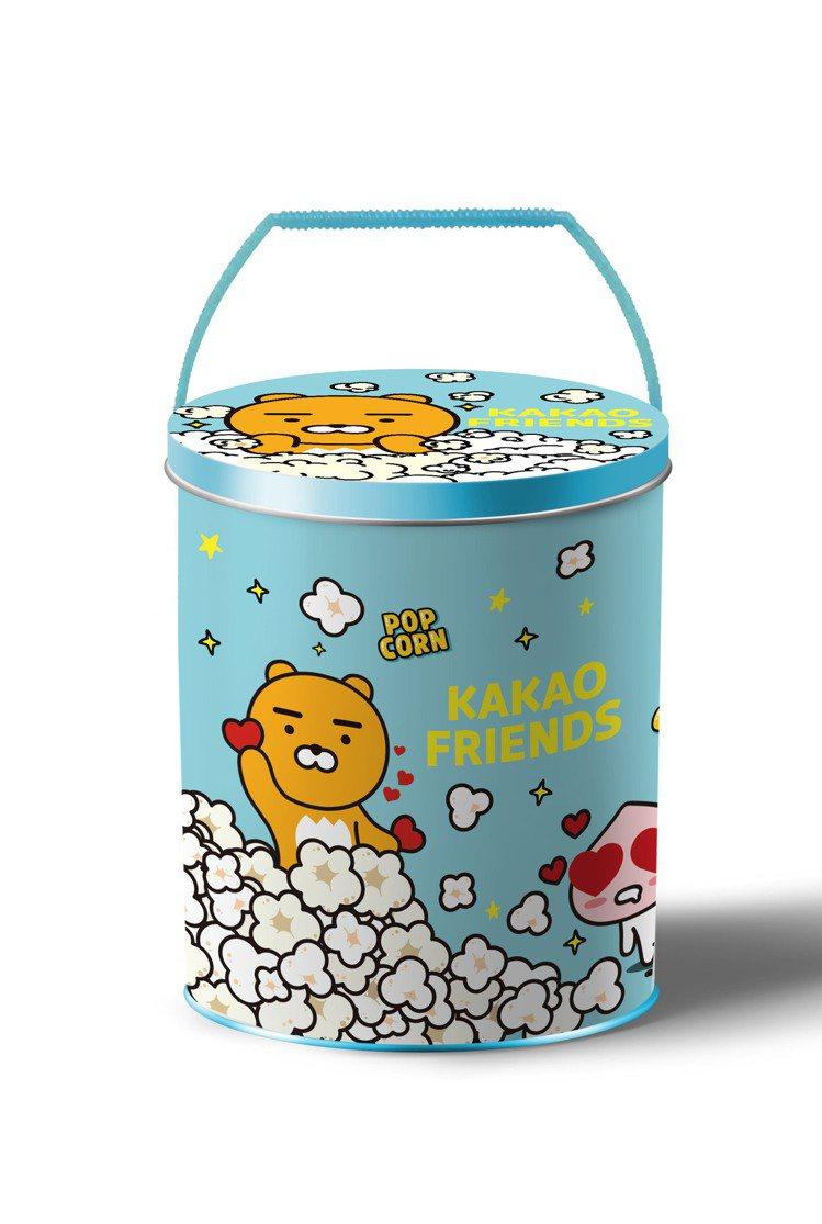 全家便利商店推出「Kakao Friends派對桶」,售價259元。圖/全家便利...