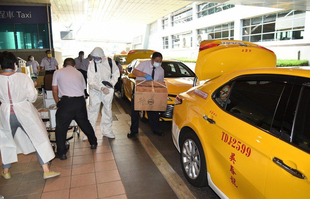 桃園機場公司預先調度車輛與人力因應春節入境人潮。 圖/桃機公司提供