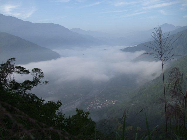 武界部落的雲海,如入人間仙境。圖/綠生活提供