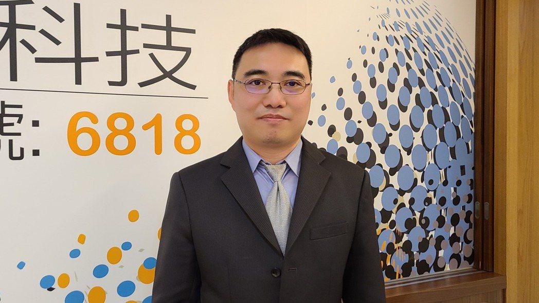 連騰總經理蕭富仁。 記者何佩儒/攝影
