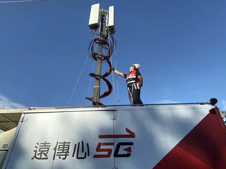 根據國際行動網路調查權威機構Speedtest、Opensignal進行台灣5G...