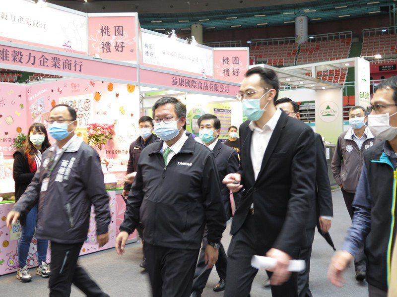 桃園市長鄭文燦任期過半,各方有意參選者摩拳擦掌。記者張裕珍/攝影