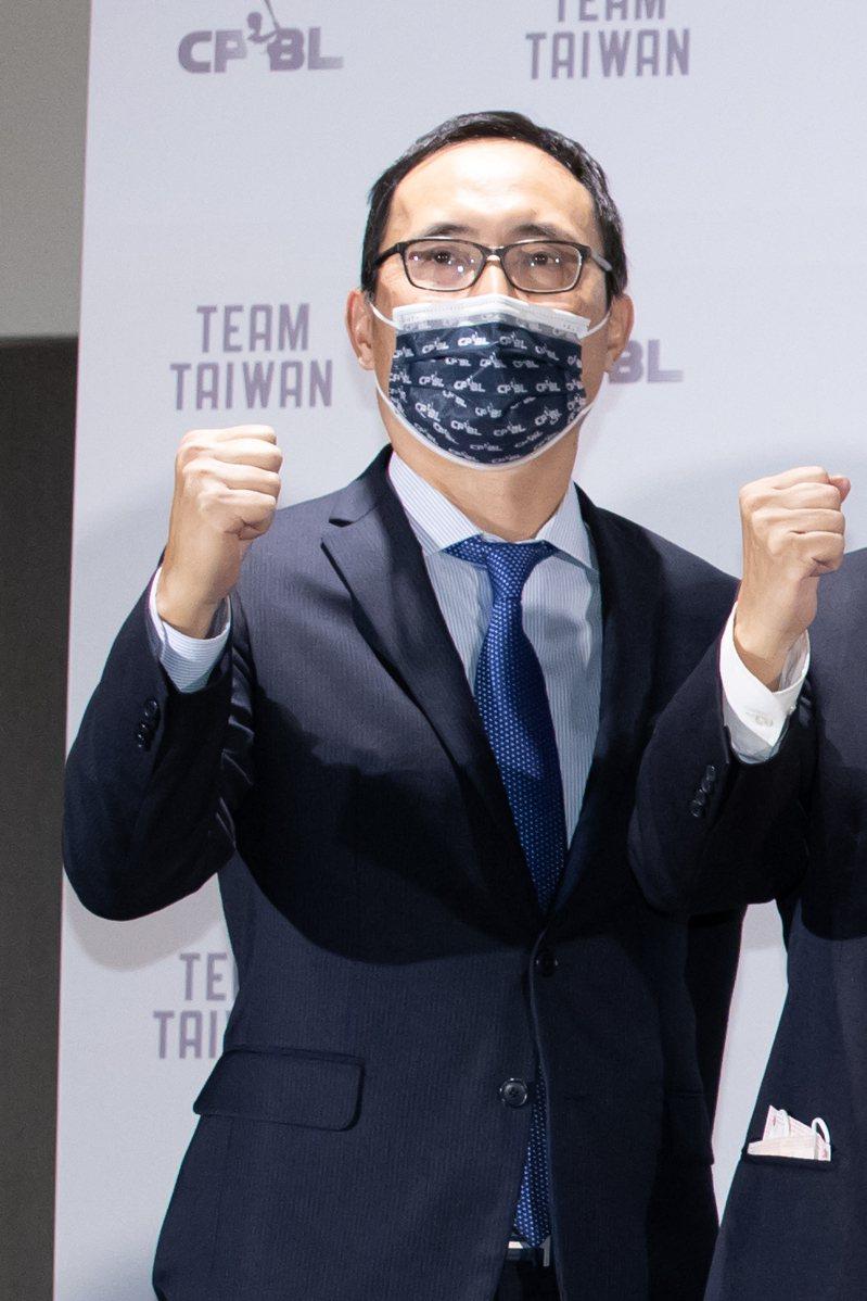 中信兄弟隊領隊劉志威。記者季相儒/攝影