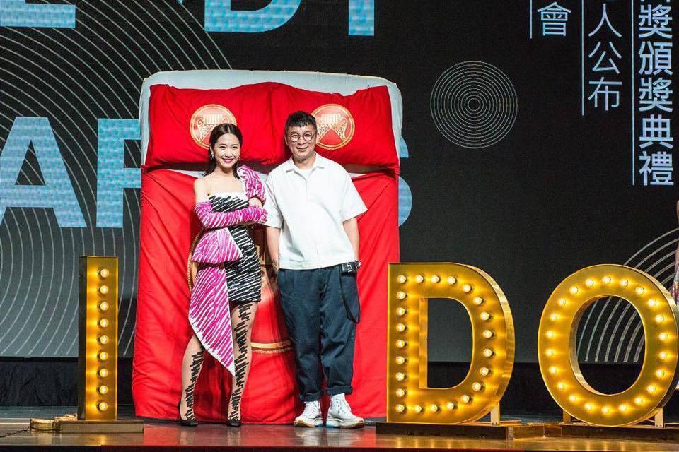 前年金曲獎成為Lulu和陳鎮川合作契機。圖/摘自臉書