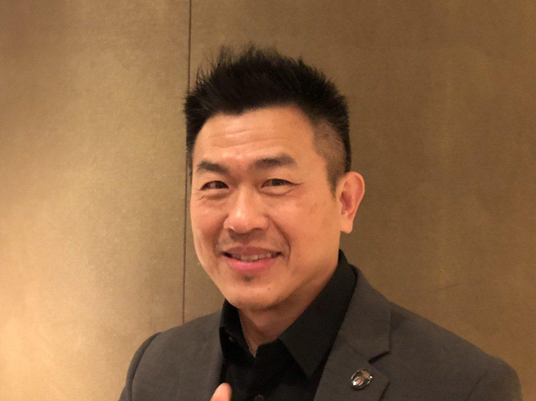 鴻海技術長魏國章。記者蕭君暉/攝影