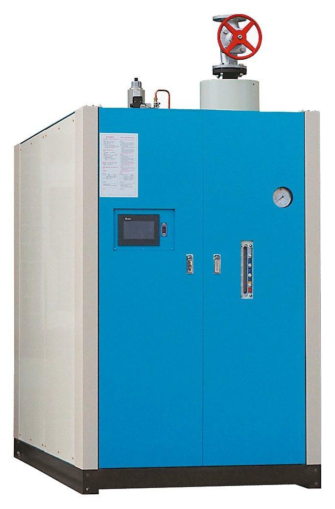 志豪公司遠端監控蒸汽鍋爐,自動化智能安全。志豪公司/提供