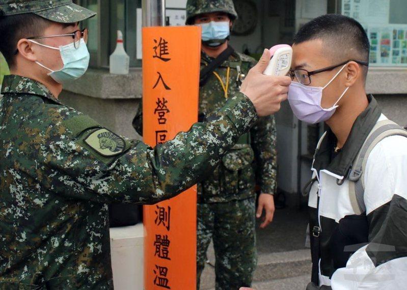 新冠肺炎疫情升高,國防部下令加強防疫措施。圖/軍聞社