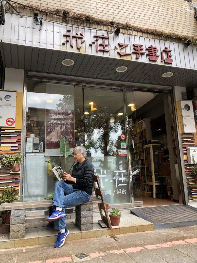 金門知名的「我在」二手書店將在1月23日熄燈打烊,老闆張慧玲說,自己打了一場「雖敗猶榮」的戰爭。記者蔡家蓁/攝影