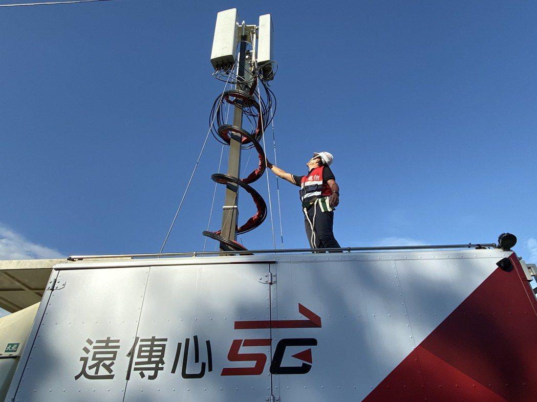 遠傳5G網速奪冠。遠傳/提供