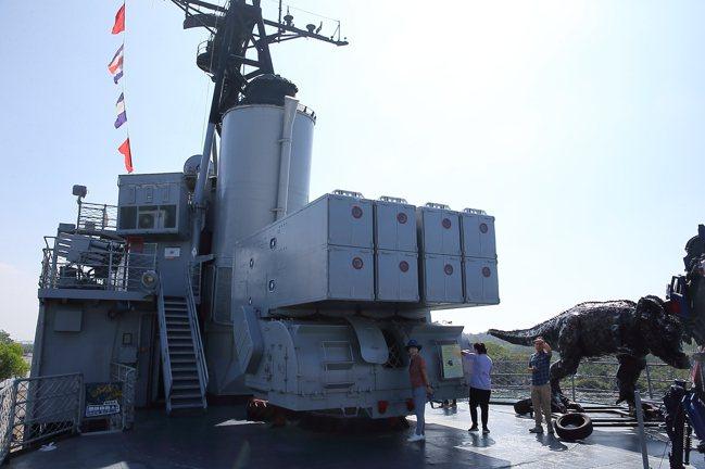 德陽艦園區是全台唯一的軍艦博物館。記者陳睿中/攝影
