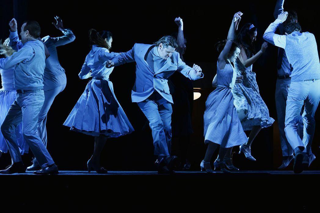 《厄勒克特拉》音樂劇劇照。 圖/維基共享