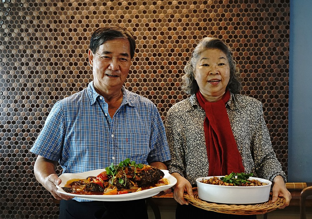阿義師的手路菜與李媽媽的家常菜,為外帶宅配年菜市場提供不一樣的新選擇。 圖/曾信...