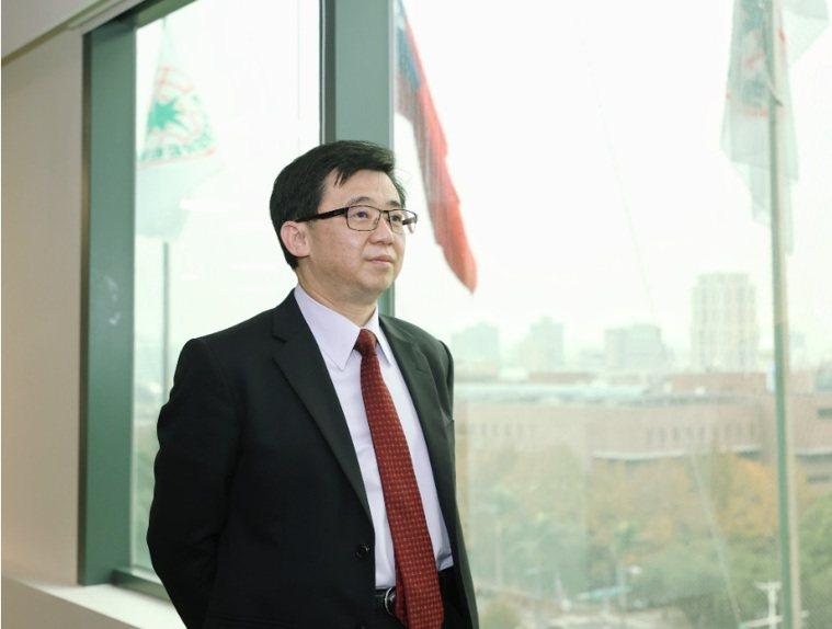 中山醫學大學醫學院院長詹貴川。 記者 曾原信/攝影