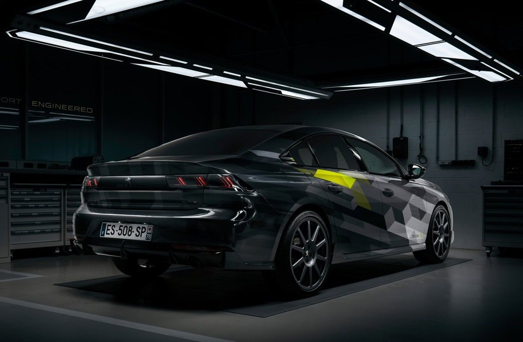 Peugeot 508 Peugeot Sport Engineered。 圖/...
