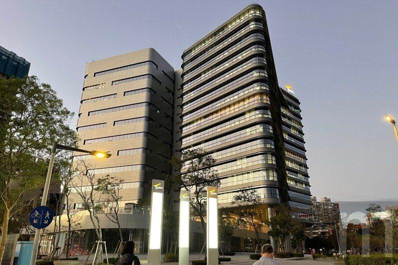 位於新北市板橋遠東通訊園區的Google新辦公園區