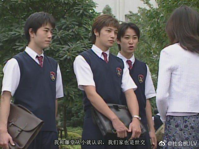 玉木宏在《麻辣教師GTO》中的青澀模樣。圖/擷自微博