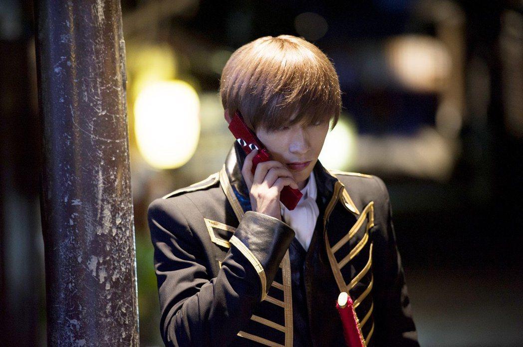 吉澤亮在《銀魂》真人電影中的沖田總悟一角。圖/擷自IMDb