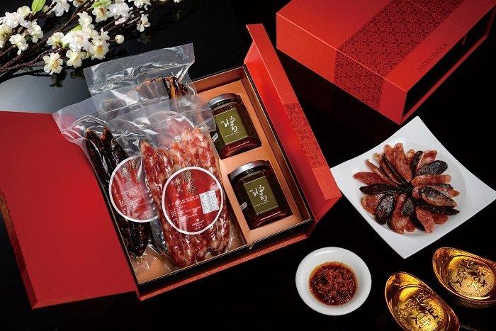 高雄國賓飯店年節伴手禮-五福臨門禮盒(2380元)。 高雄國賓飯店/提供