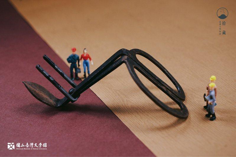 除了採收洋菇用剪刀之外,玩發明玩出心得的李魁賢,還另外獲得好幾項專利。(藏品/李魁賢提供,圖/國立臺灣文學館)