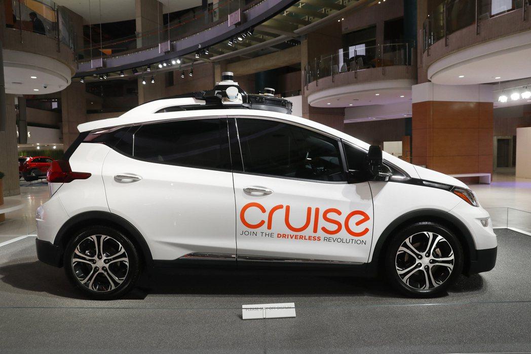 微軟投資通用汽車的Cruise。美聯社