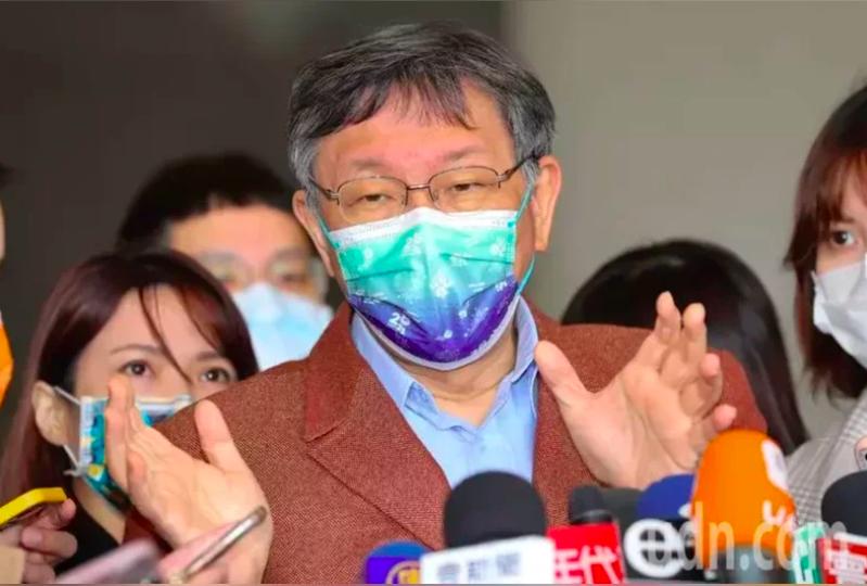 台北市長柯文哲日前接受日媒「產經新聞」專訪,日媒形容柯文哲為「被認為2024下屆台灣總統大選的強有力候選人」。本報資料照片
