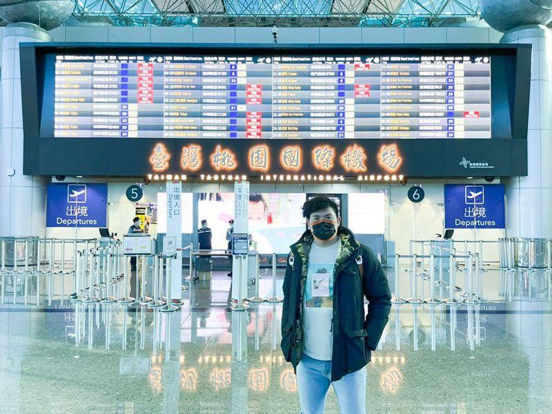 旅日投手宋家豪今天前往日本,準備迎接新球季。圖/取自Ethan Sports