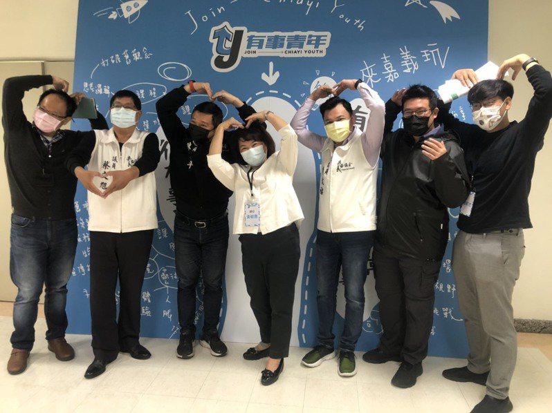 嘉義市長黃敏惠今參加有事青年營始業式,宣布過年發紅包取消。圖/市府提供