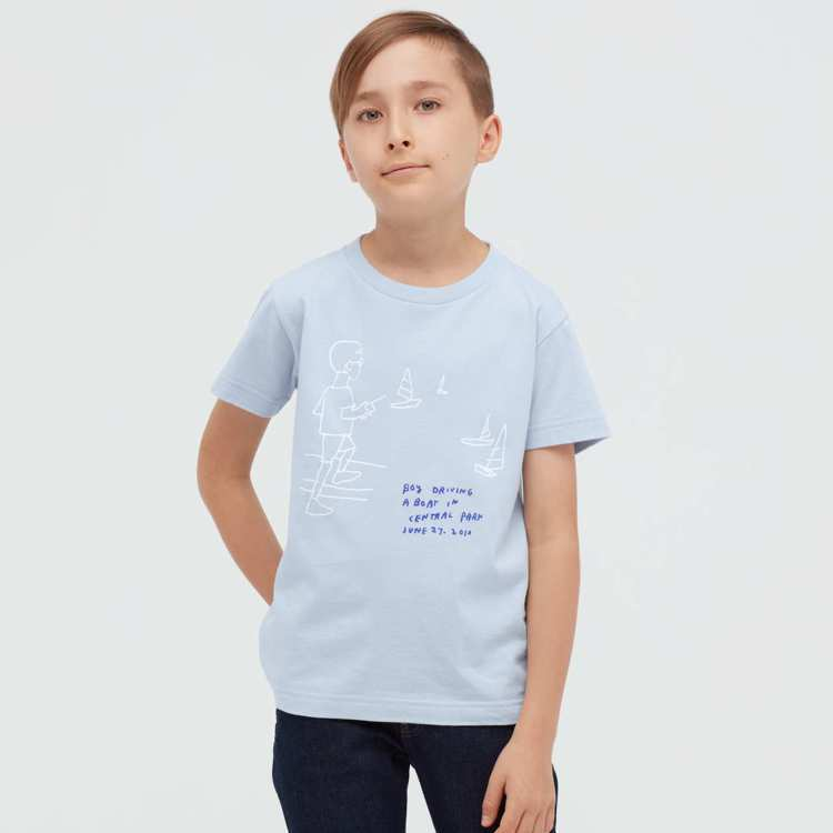 Jason Polan UT系列童裝T恤390元。圖/UNIQLO提供