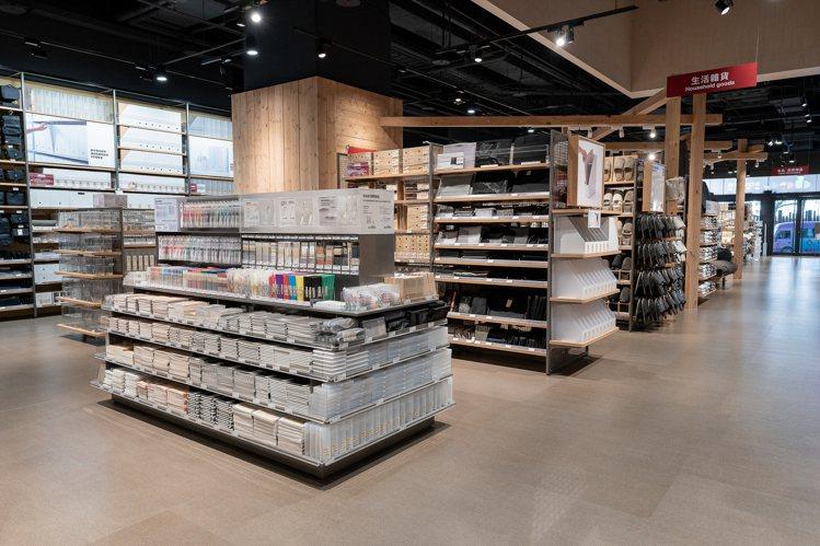 MUJI無印良品新店門市開幕,占地近210坪。圖/MUJI無印良品提供