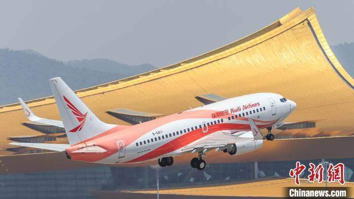 有大陸國資背景的無錫交通產業集團收購瑞麗航空57%的控股權。(圖/取自中新網)