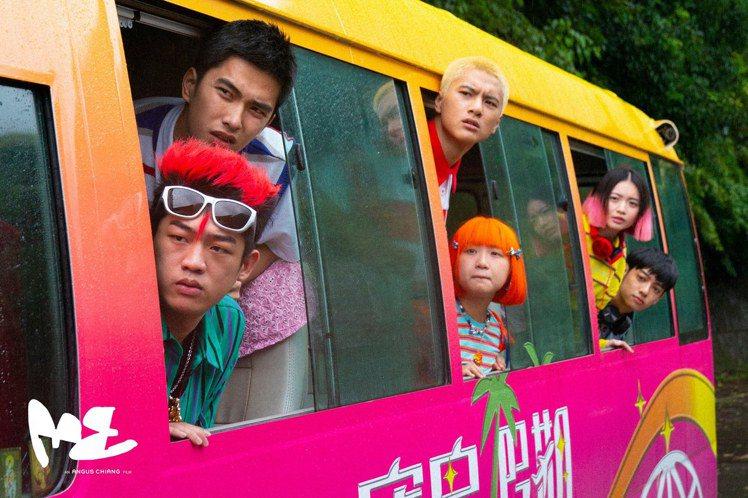 電影「ME」呈現追尋夢想的勇氣。圖/ANGUS CHIANG提供