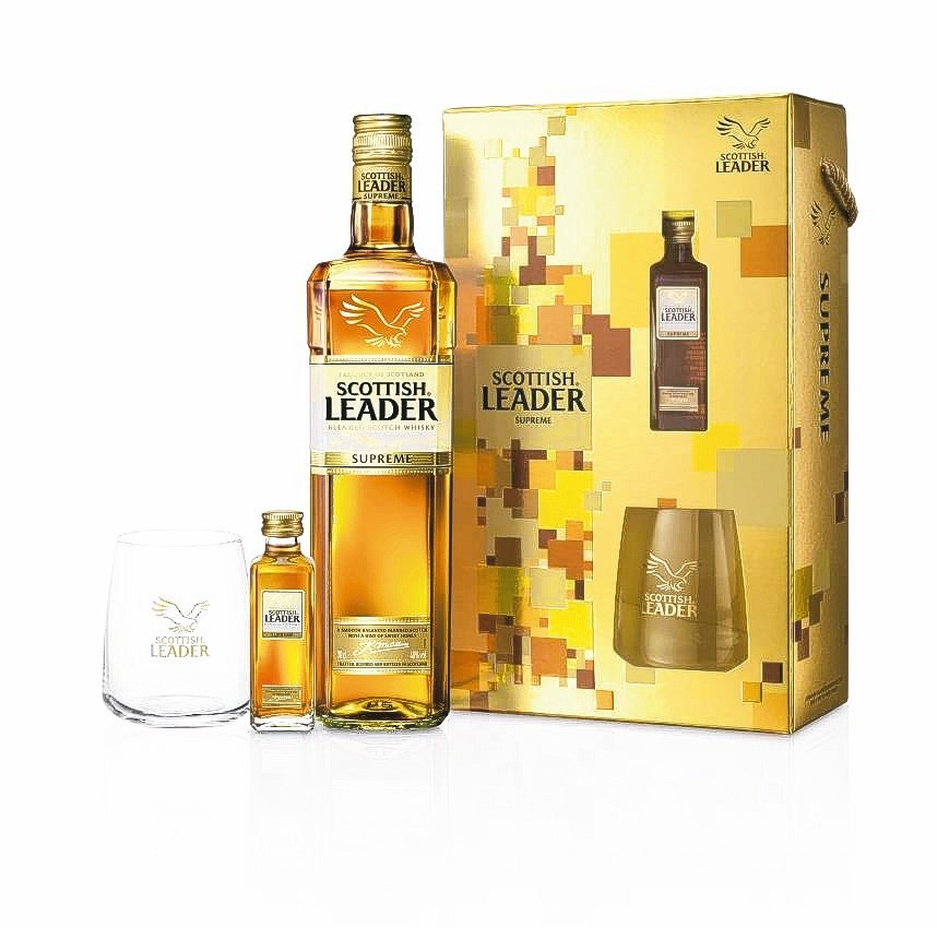「仕高利達金牌蘇格蘭威士忌」禮盒,在橡木桶熟成孕育,陳釀出濃郁蜂蜜香氣。業者/...