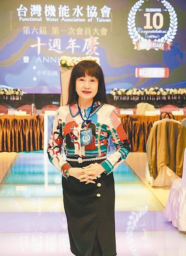 台灣機能水協會第六屆新任理事長游雅淇。業者/提供