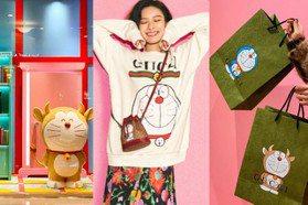 金牛角哆啦A夢Doraemon太吸睛!Gucci聯名店中店太好拍、還有任意門、大雄書桌
