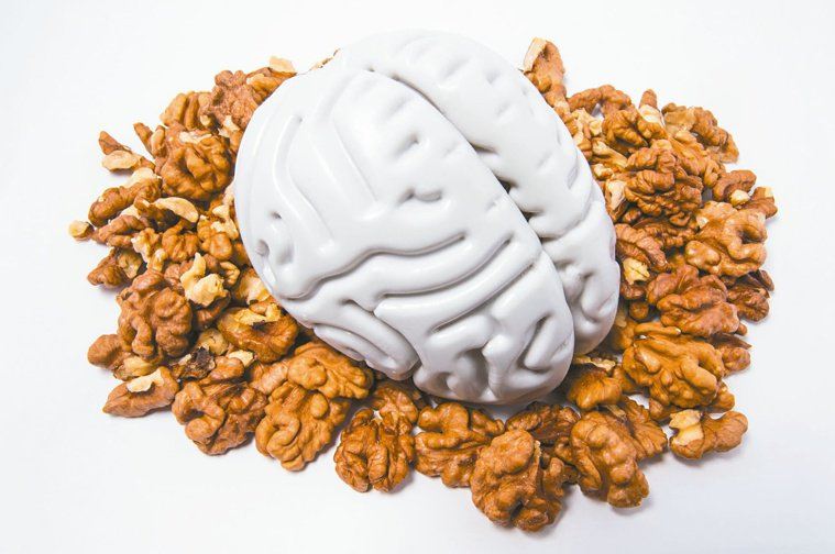 核桃富含單元不飽和脂肪酸,是護腦的重要成分,因此核桃是預防失智的聖品。圖╱1...