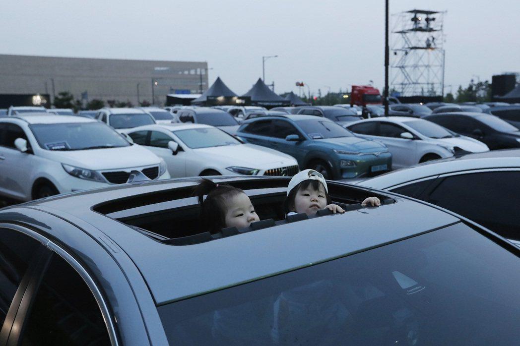 南韓去年汽車掛牌數成長近3%。美聯社