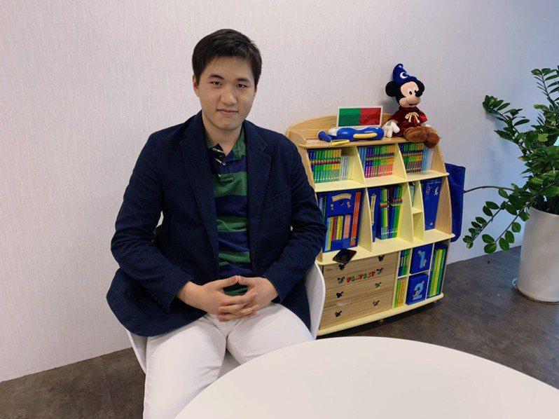 江璟亮,台灣第一位被英國Mensa天才協會認證為「智商高達160以上的天才」。記者趙宥寧/攝影