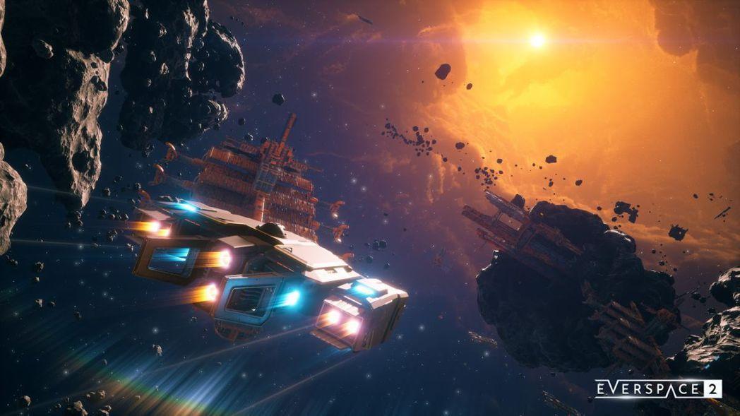 遊戲美術圖 圖源:《永恆空間 2》Steam